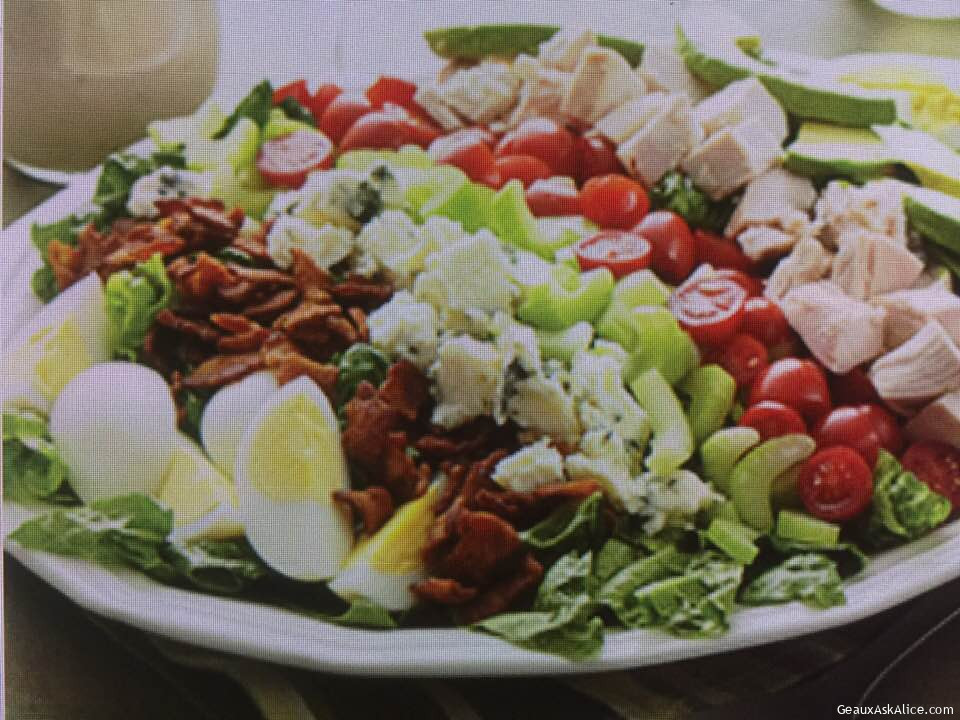 Kicked Up Cobb Salad