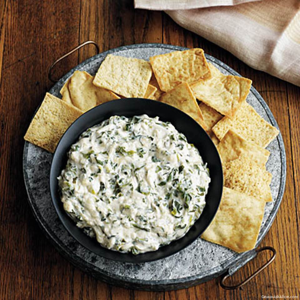 Spicy Cheesy Spinach Crab Dip