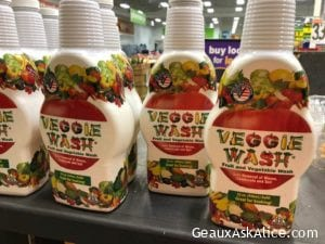 Today's Product is Veggie Wash!