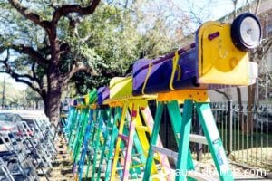 Best seats in town for those Mardi Gras Parades!