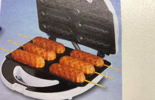 Today's Gadget Is The Amazing Corn Dog Maker! Best Part Is That It Also Can Make Other Wonderful Treats!