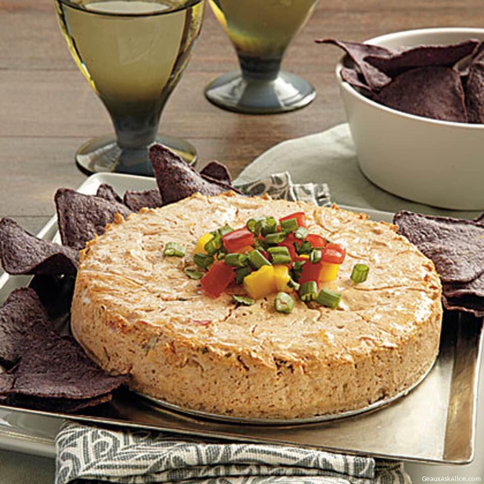 Savory Salsa Cheesecake