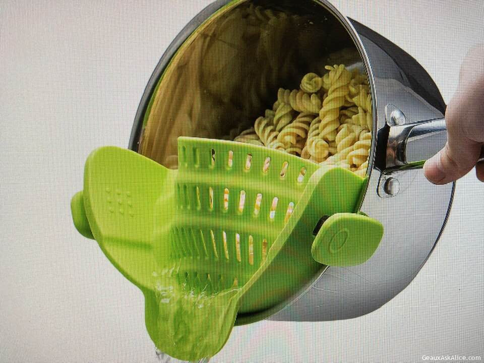 Today's Gadget Is The Kitchen Gizmo Snap 'N Strainer!