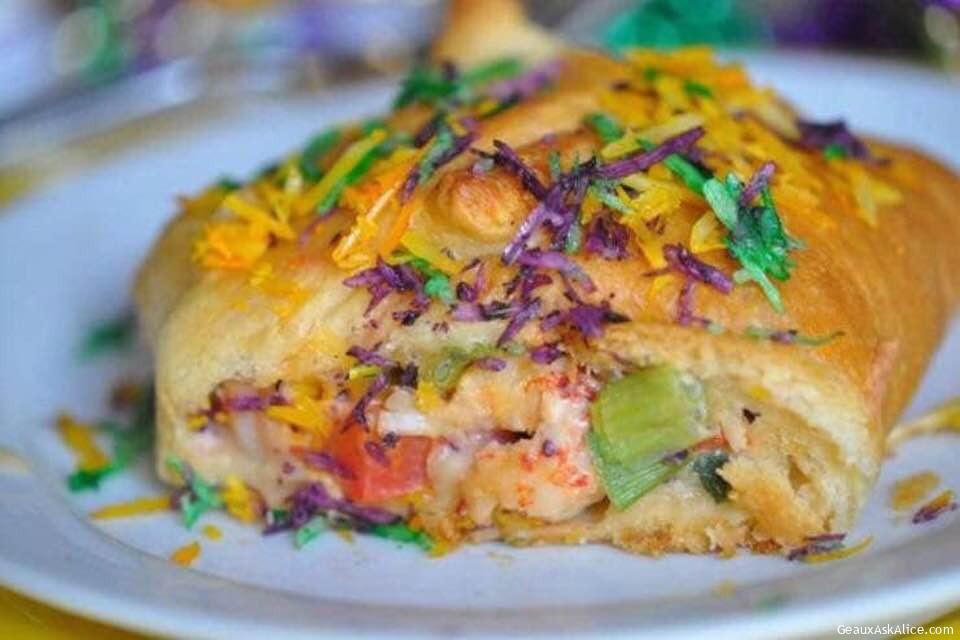 Crawfish King Cake! Now We R Talking!