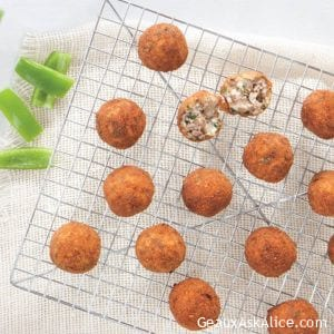 Crispy Fried Boudin Balls