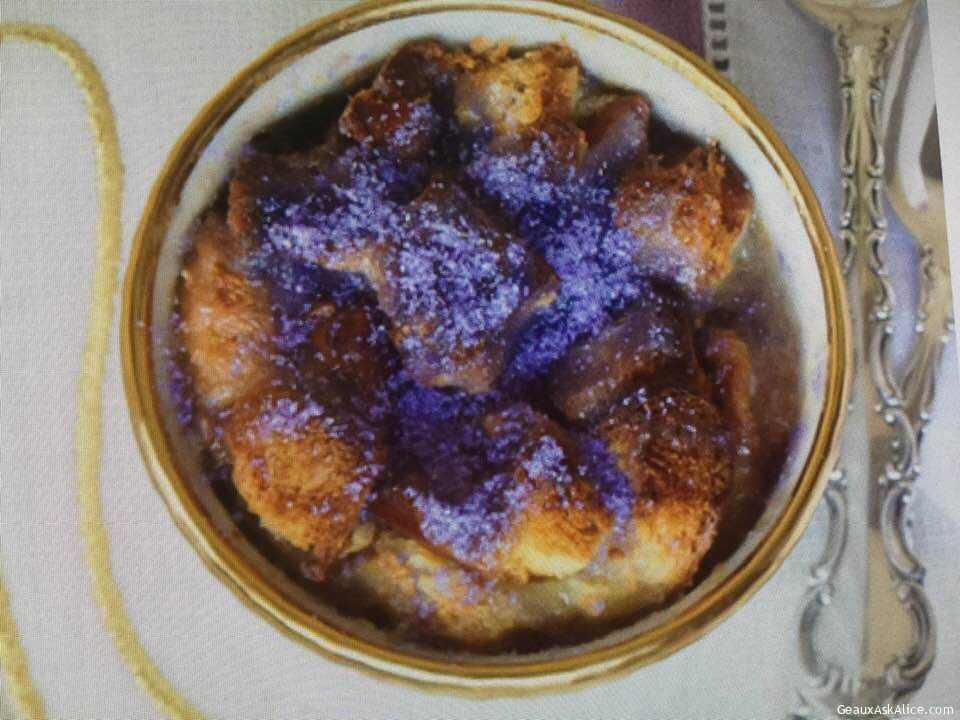 Fabulous King Cake Bread Pudding