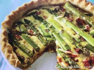 Hearty Spring Asparagus Quiche