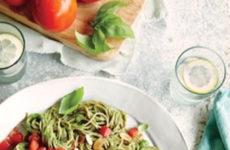 Irresistible Spaghetti With Spinach-Avocado Sauce