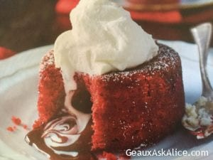 So -Sweet Spot Molten Red Velvet Cakes