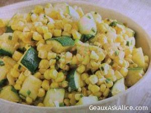 Tasty Sweet Corn and Zucchini