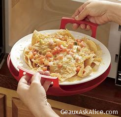 Today's Gadget is the Cool Grip Microwave Caddy!