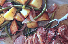 Rosemary Roasted Lamb With Green Beans And Potatoes