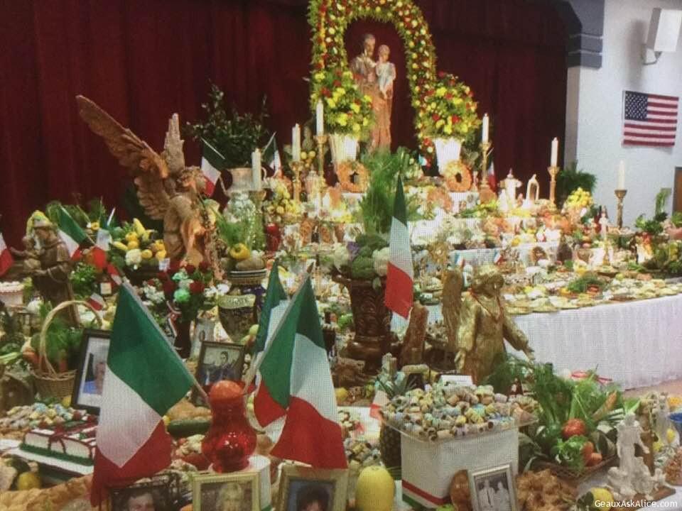 More St. Joseph Altars