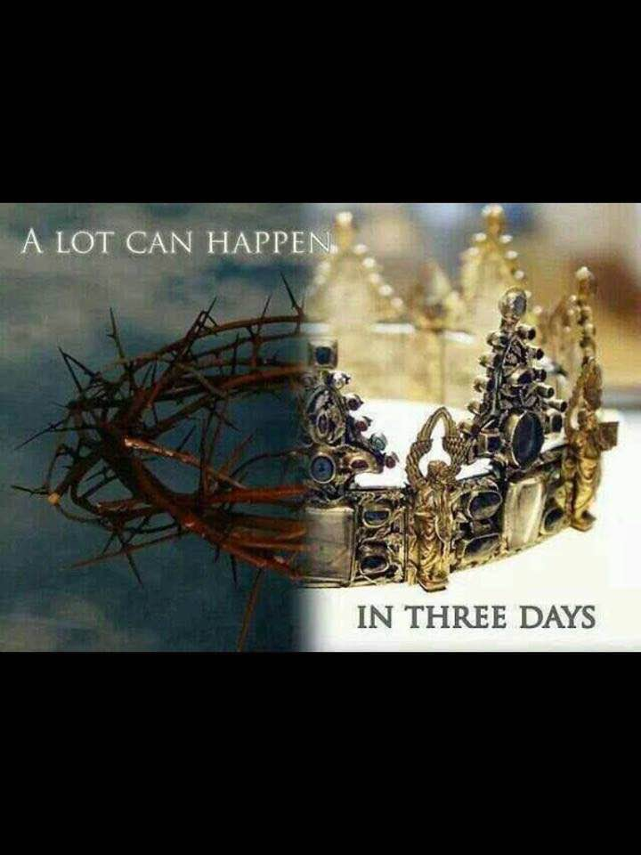 A Lot Can Happen In Three Days!