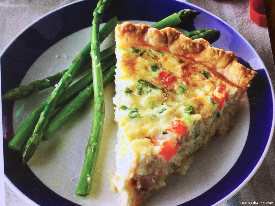 Creamy Crab Quiche