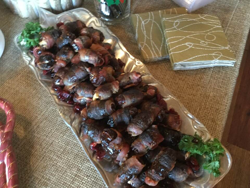 Delicious Bacon Wrapped Stuffed Dates