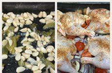 Garlic And Lemon Baked Chicken!