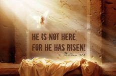 He Is Not Here For He Has Risen!
