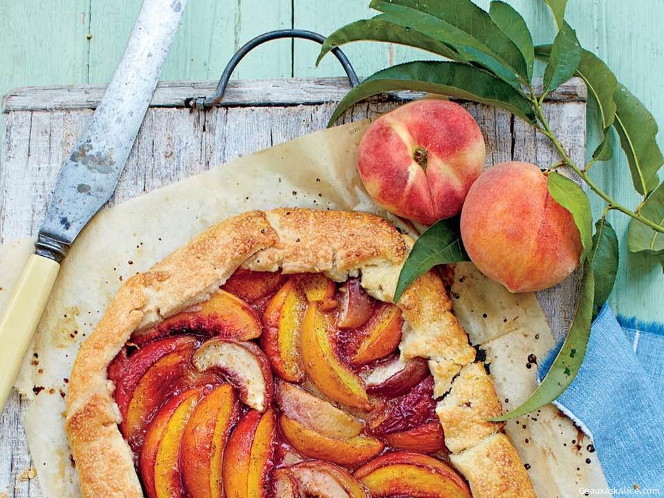 Peachy Divinity Icebox Pie