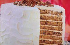 White Chocolate Hummingbird Cake