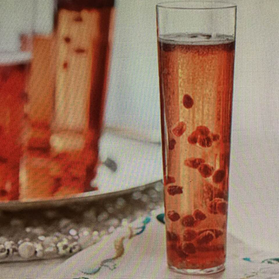 Zippy Pomegranate Prosecco