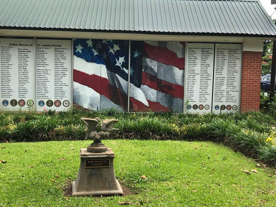 Memorial To St. Landry Parish Military