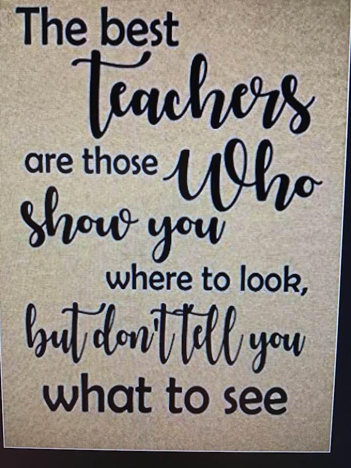 Teachers….