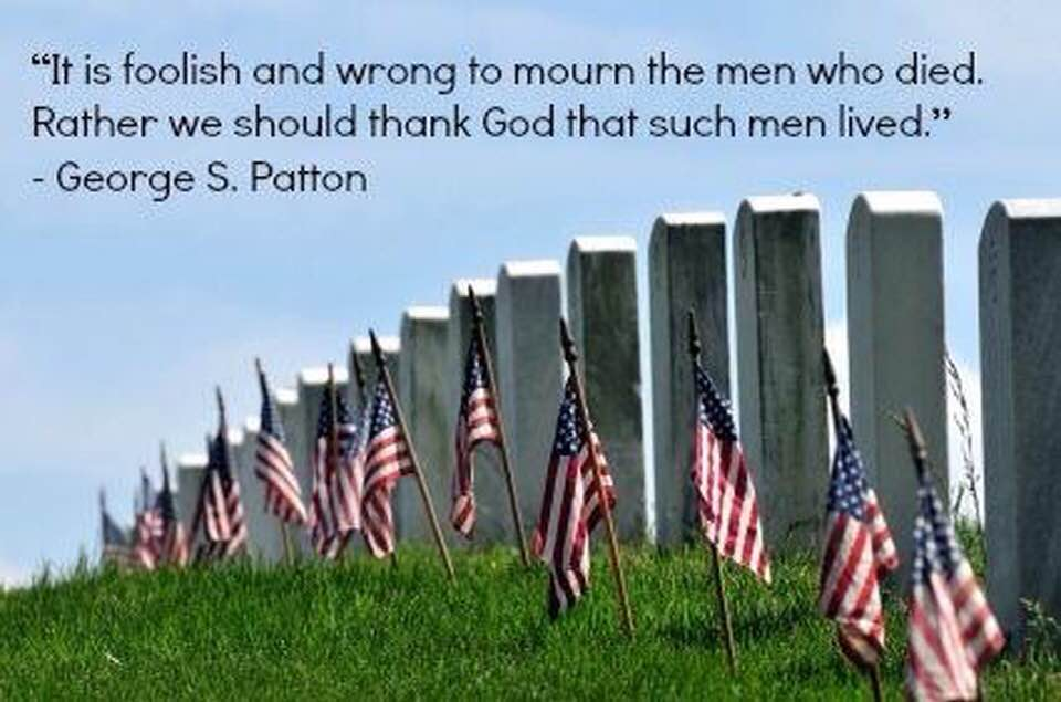 Memorial Day Is Monday!