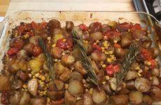 Spicy Yukon Gold Potato And Corn Delight
