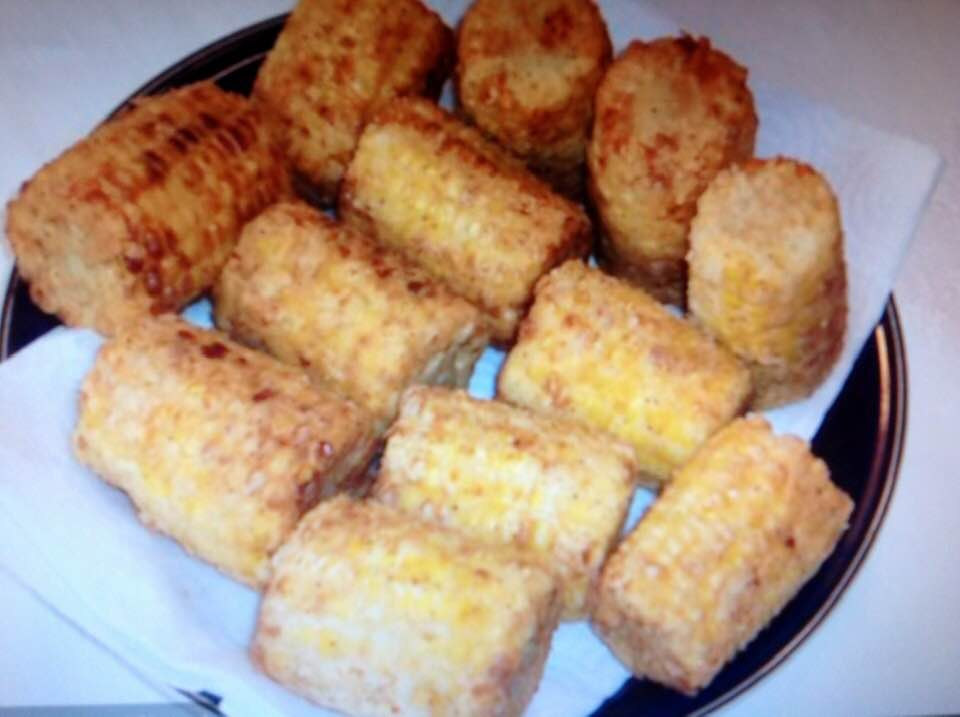 Chicken Fried Corn On The Cob