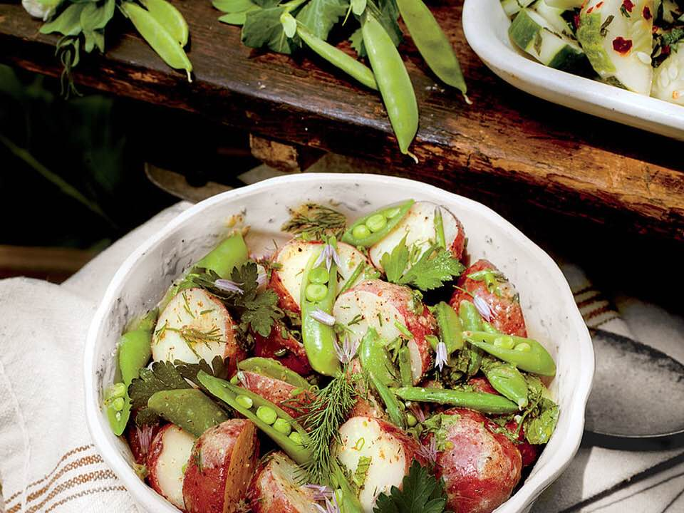Bold Garden Potato Salad