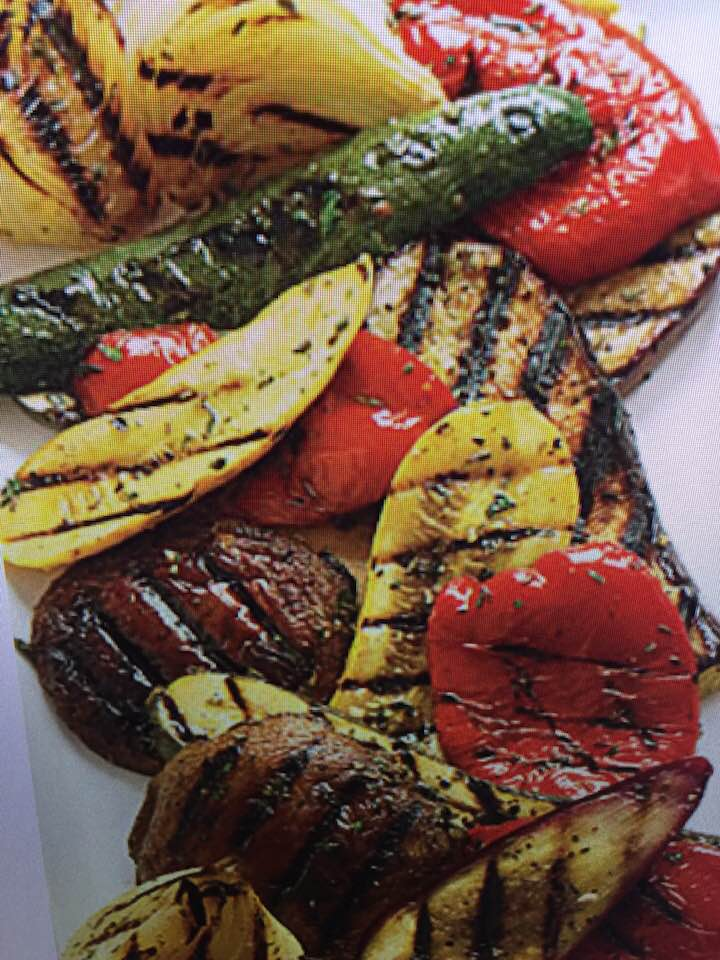 Citrus Herb Grilled Veggies