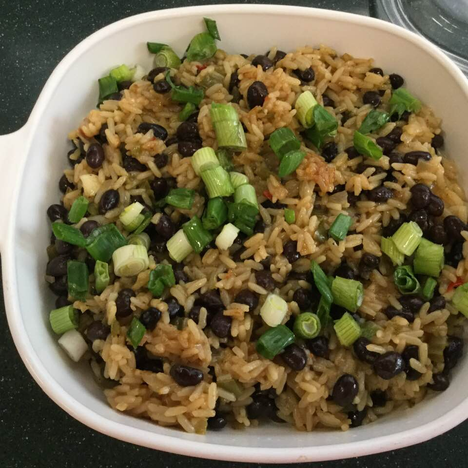 Easy Kicked Up Mexican Rice