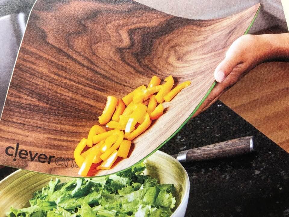 Flexible-wood-look-cutting-board
