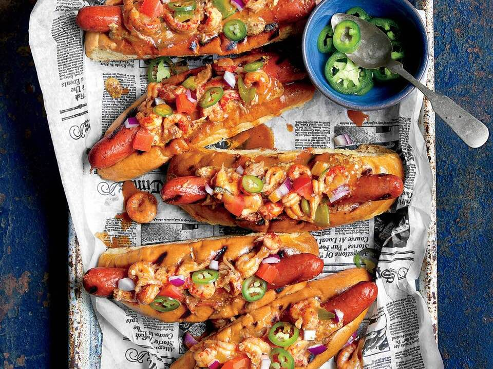Grilled Crawdogs