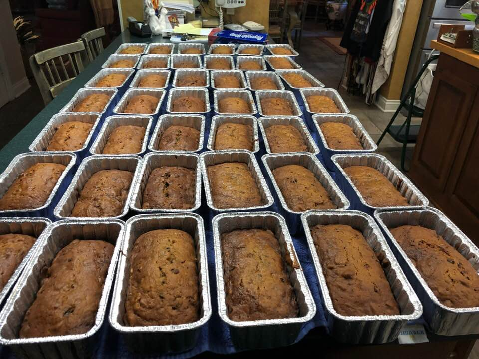 ALICE'S PUMPKIN BREAD FOR CHRISTMAS BAKING