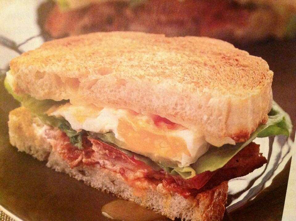 BLT, Fried Egg And Cheese Sandwich