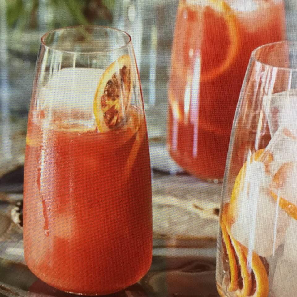 Blood Orange Screwdrivers