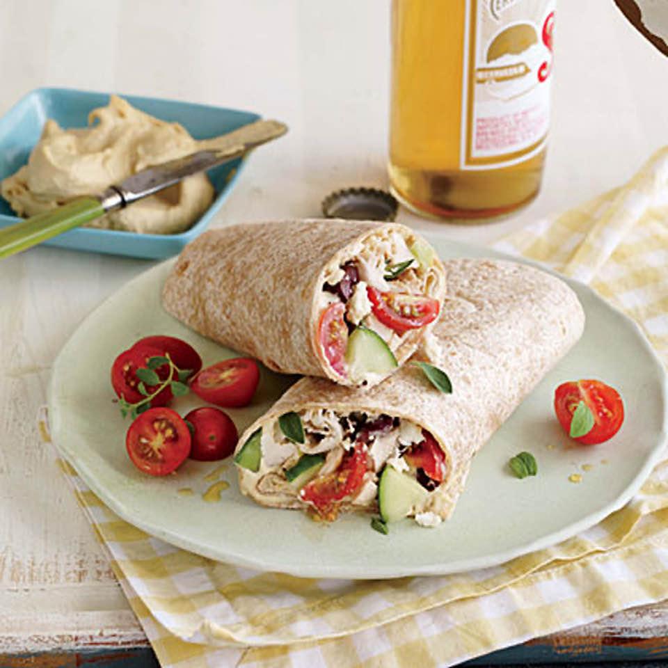 Tasty Greek Style Wraps