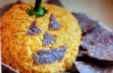 Cheese Ball - Halloween Style