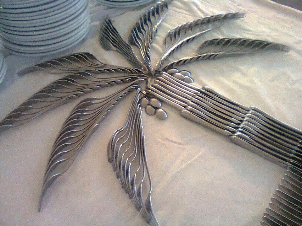 Palm Tree Of Utensils