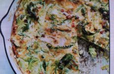 Brussels Sprout, Bacon And Gruyere Frittata