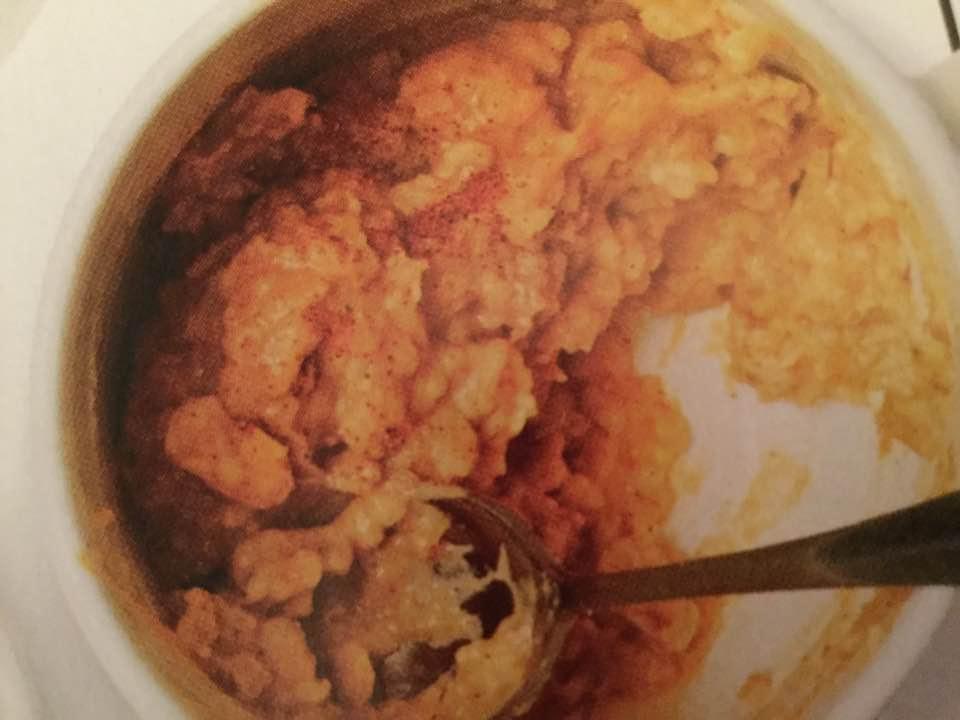 Mugful Oatmeal Pumpkin Pie