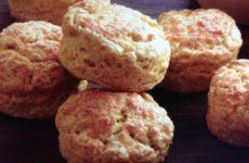 Parmesan Pumpkin Biscuits