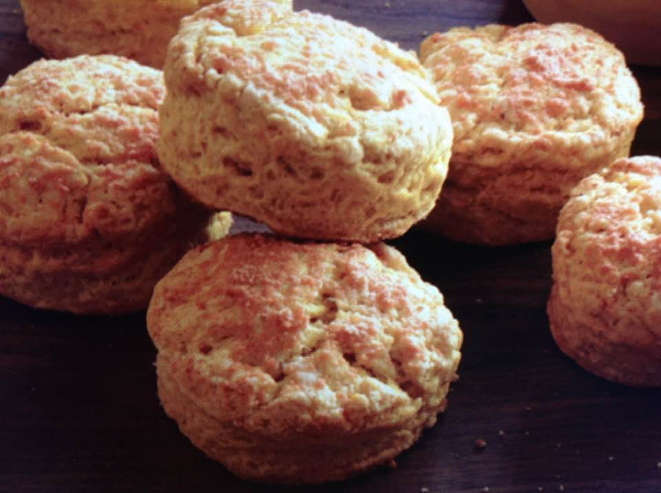 Parmesan Pumpkin Biscuits