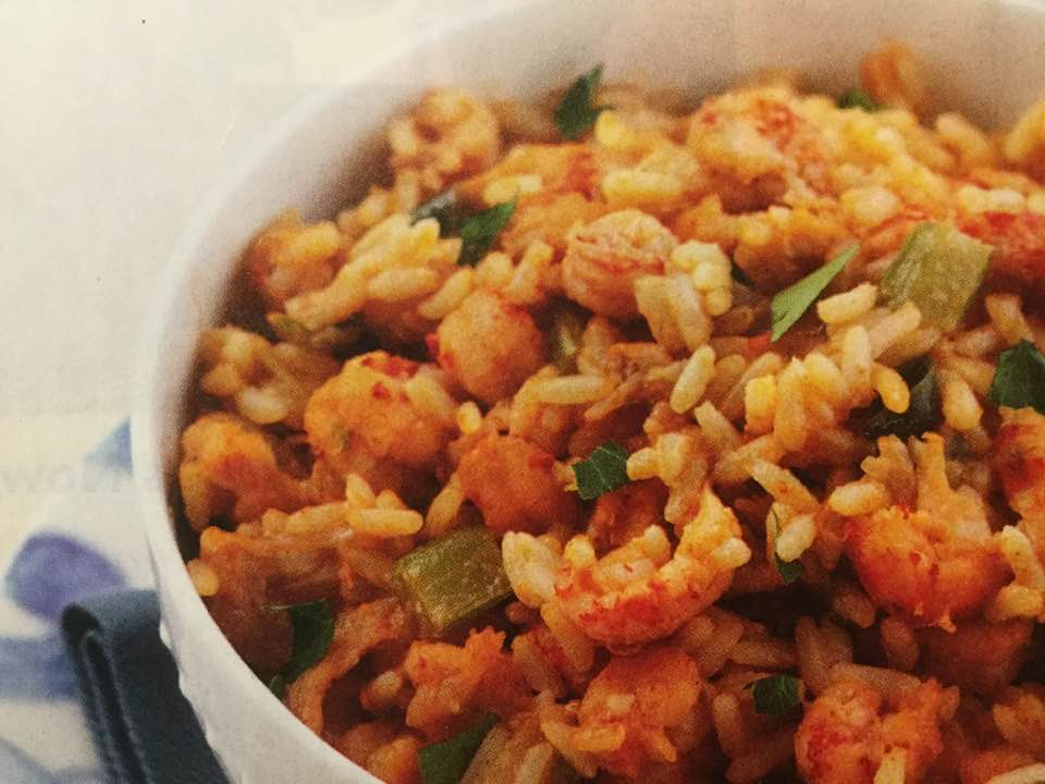Comforting Crawfish Dirty Rice