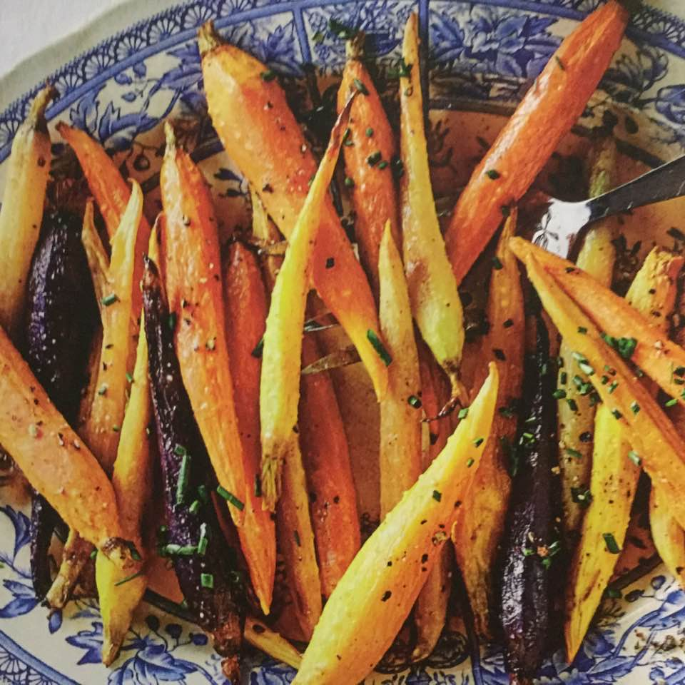 Spicy Honey-Glazed Carrots
