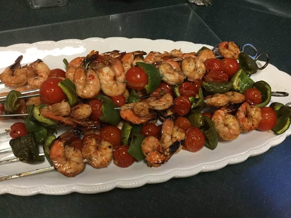Succulent Shrimp Kebobs