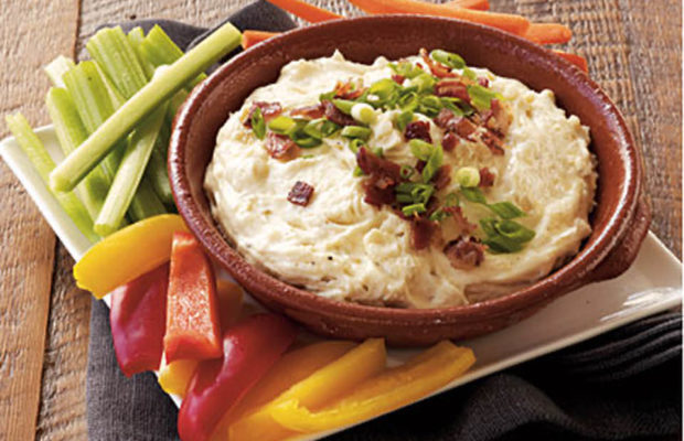 Cheesy Gruyere And Bacon Dip