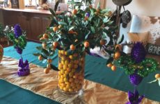 Love Using My Kumquats For Mardi Gras Decorations